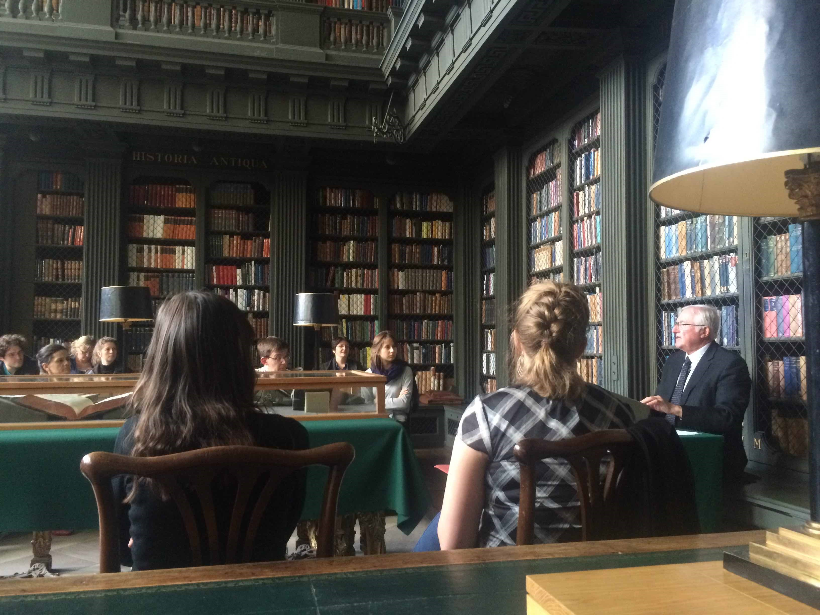 Ian Maclean's lecture in the Codrington Library All Souls College