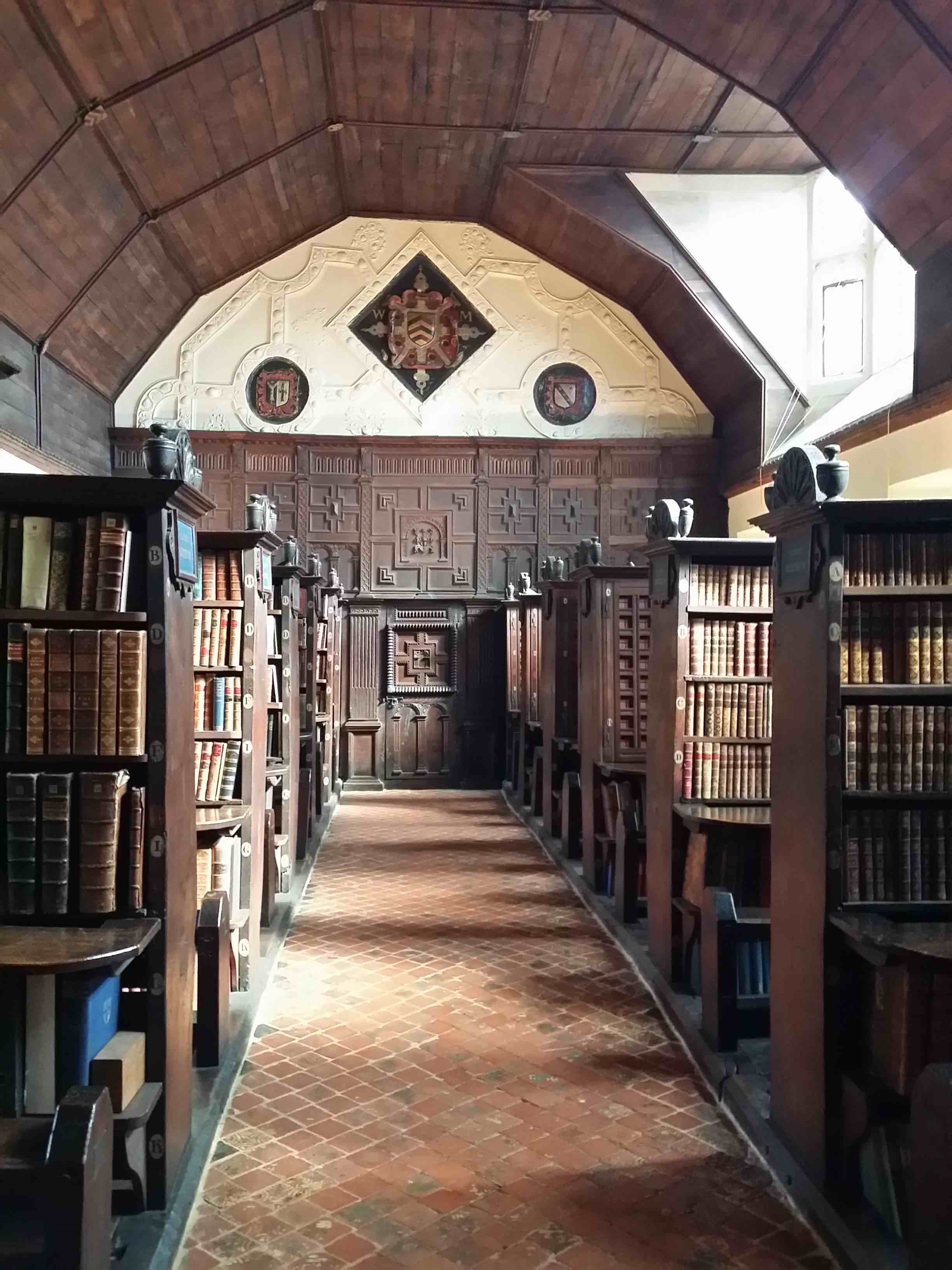 Merton College Historic Library