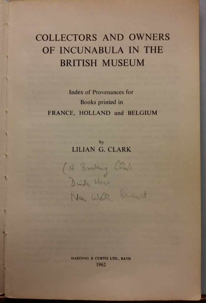 Clark Title-page